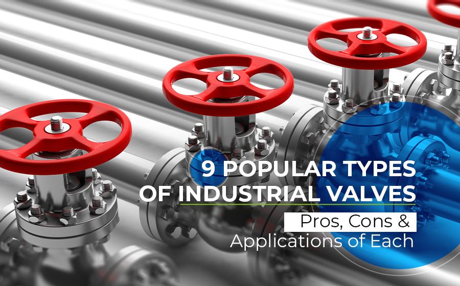 9-popular-types-of-industrial-valves